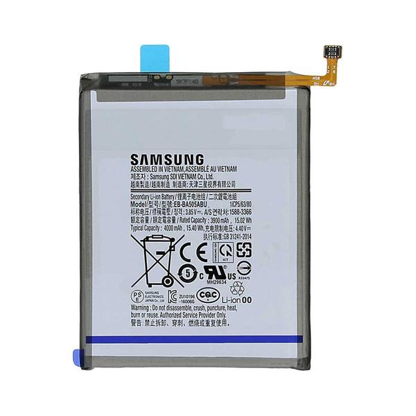 باتری موبایل مدلEB-BA505ABU65ظرفیت 4000 میلی آمپر ساعت مناسب برای گوشی موبایل سامسونگ Galaxy A30