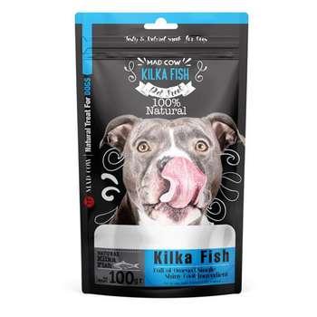 تشویقی سگ مدکاو مدل Kilka Fish وزن 100 گرم
