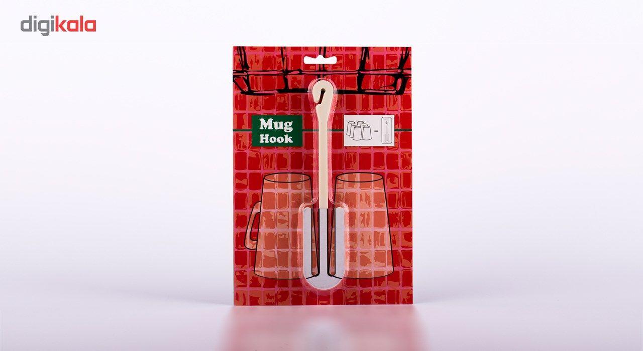 آویز لیوان ماگ هوک مدل M1 بسته 3 عددی main 1 2