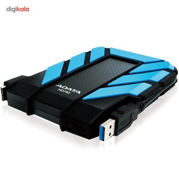هارد اکسترنال ای دیتا مدل HD710 ظرفیت 1 ترابایت main 1 4