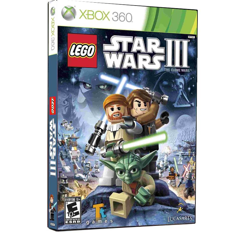بررسی و {خرید با تخفیف}                                     بازی  LEGO Star Wars III the Clone Wars مخصوص XBOX 360                             اصل