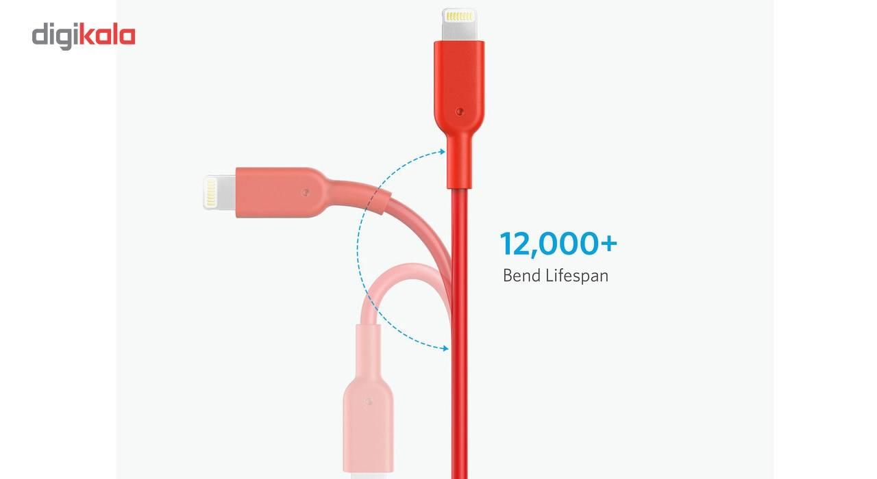 کابل تبدیل USB به لایتنینگ انکر مدل A8434 طول 3 متر main 1 5