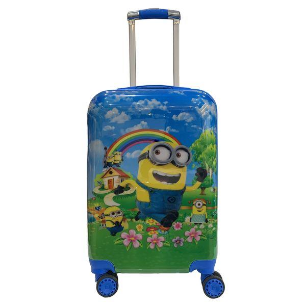 چمدان کودک مدل مینیون کد C008