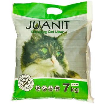 خاک بستر گربه ژوانیت مدل پریمیوم آنزیمت وزن 7 کیلوگرم