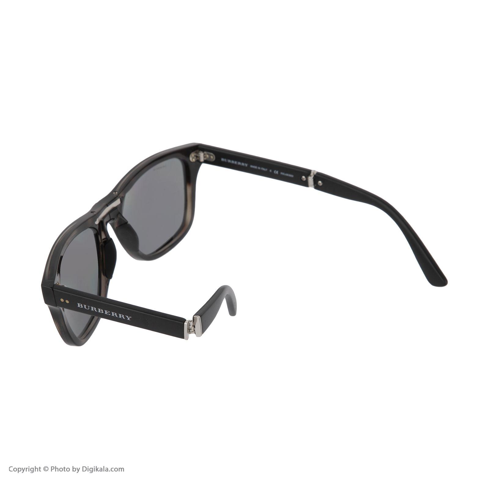عینک آفتابی مردانه بربری مدل BE 4204S 3541T8 55 -  - 6