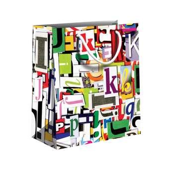 پاکت هدیه مدل حروف لاتین