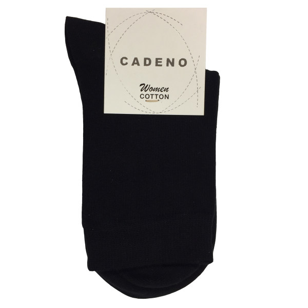 جوراب زنانه کادنو کد CAL1001 رنگ مشکی