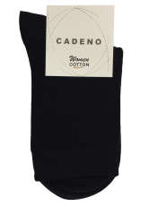جوراب زنانه کادنو کد CAL1045 بسته 3 عددیرنگ مشکی -  - 2