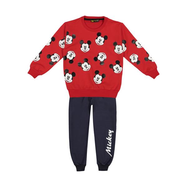 ست تی شرت و شلوار دخترانه خرس کوچولو مدل 2011163-72