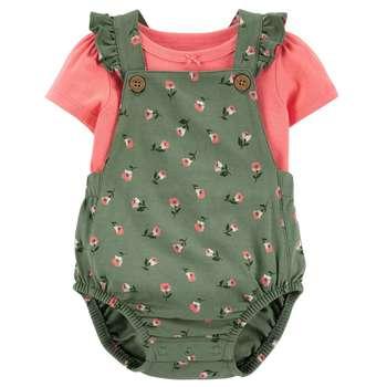 ست تی شرت و سرهمی نوزادی دخترانه کارترز مدل 1444