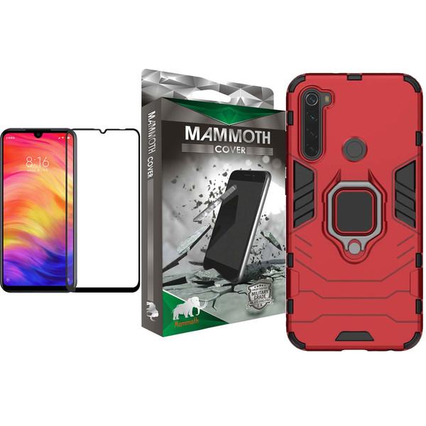 کاور ماموت مدل M-GHB-MGNT مناسب برای گوشی موبایل شیائومی Redmi Note 8T به همراه محافظ صفحه نمایش
