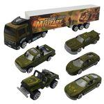 ماشین بازی مدل ارتشی کد 400 مجموعه 6 عددی