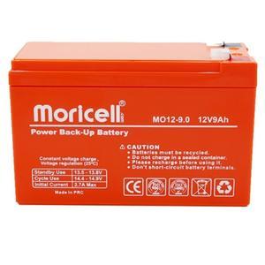 باتری یو پی اس 12 ولت 9 آمپر ساعت موریسل مدل MO12-9
