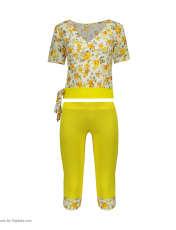 ست تی شرت و شلوارک زنانه کد 001 -  - 8