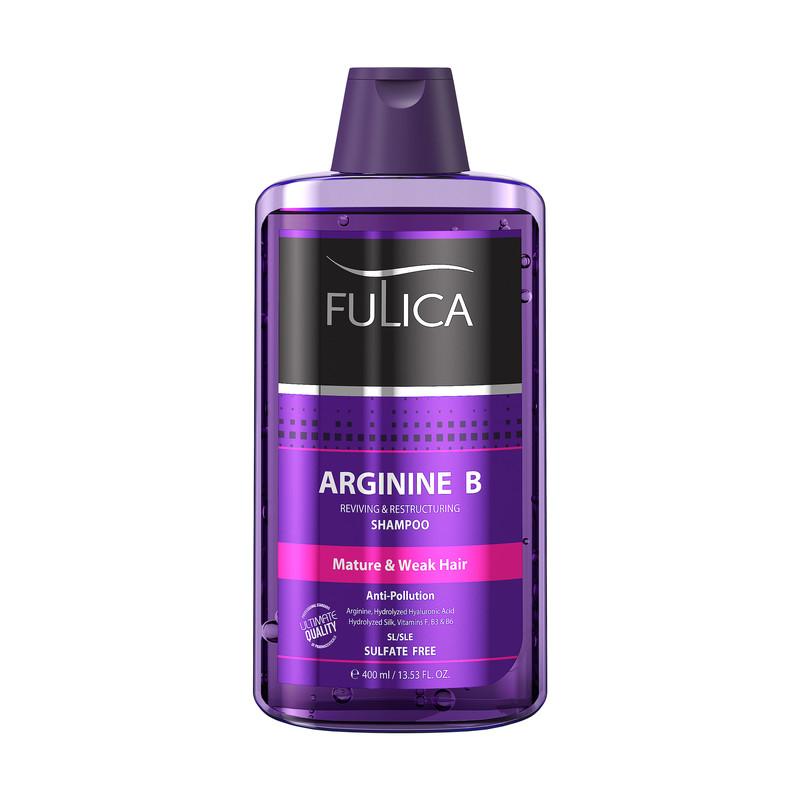شامپو تقویت کننده مو فولیکا مدل Arginine B وزن 400 گرم