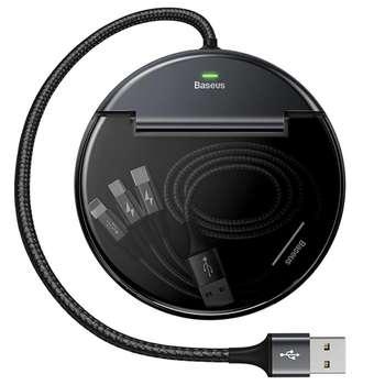 هاب 3 پورت USB2.0 باسئوس مدل CAHUB-FX01