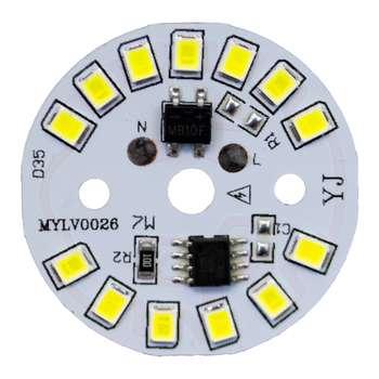 چیپ لامپ ال ای دی 7 وات مدل 0026