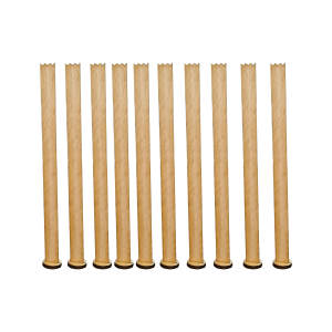 فیتیله چوبی شمع مدل F01 بسته 10 عددی
