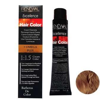 رنگ مو رنوال شماره 7.77 حجم 150 میلی لیتر رنگ بلوند نسکافه ای