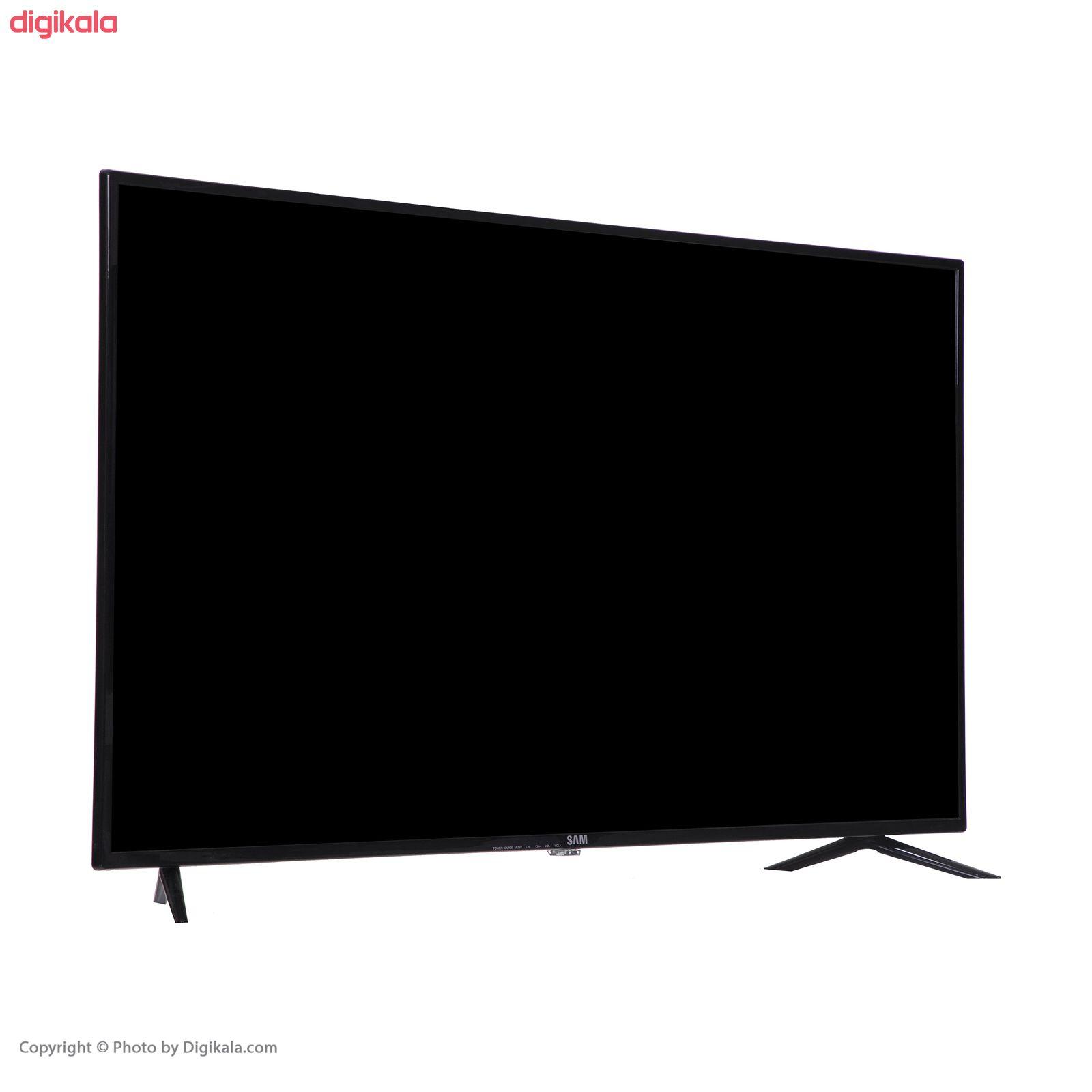 تلویزیون ال ای دی هوشمند سام الکترونیک مدل UA43T5500TH سایز ۴۳ اینچ main 1 2