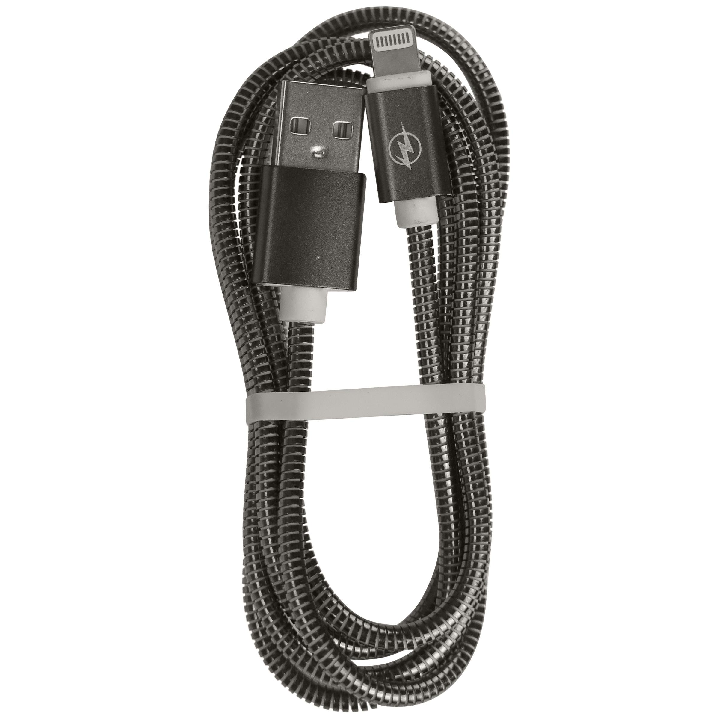 کابل تبدبل USB به لایتنینگ مدل i10  طول 1 متر