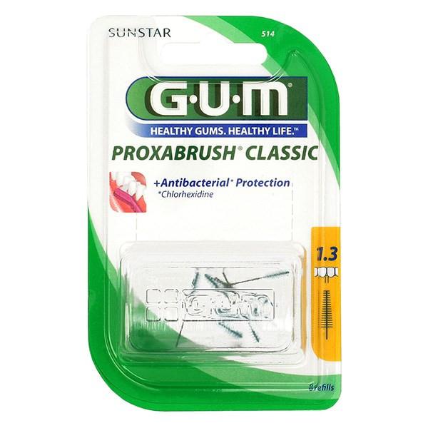 برس یدک مسواک بین دندانی جی یو ام مدل Proxabrush Classic سایز 1.3