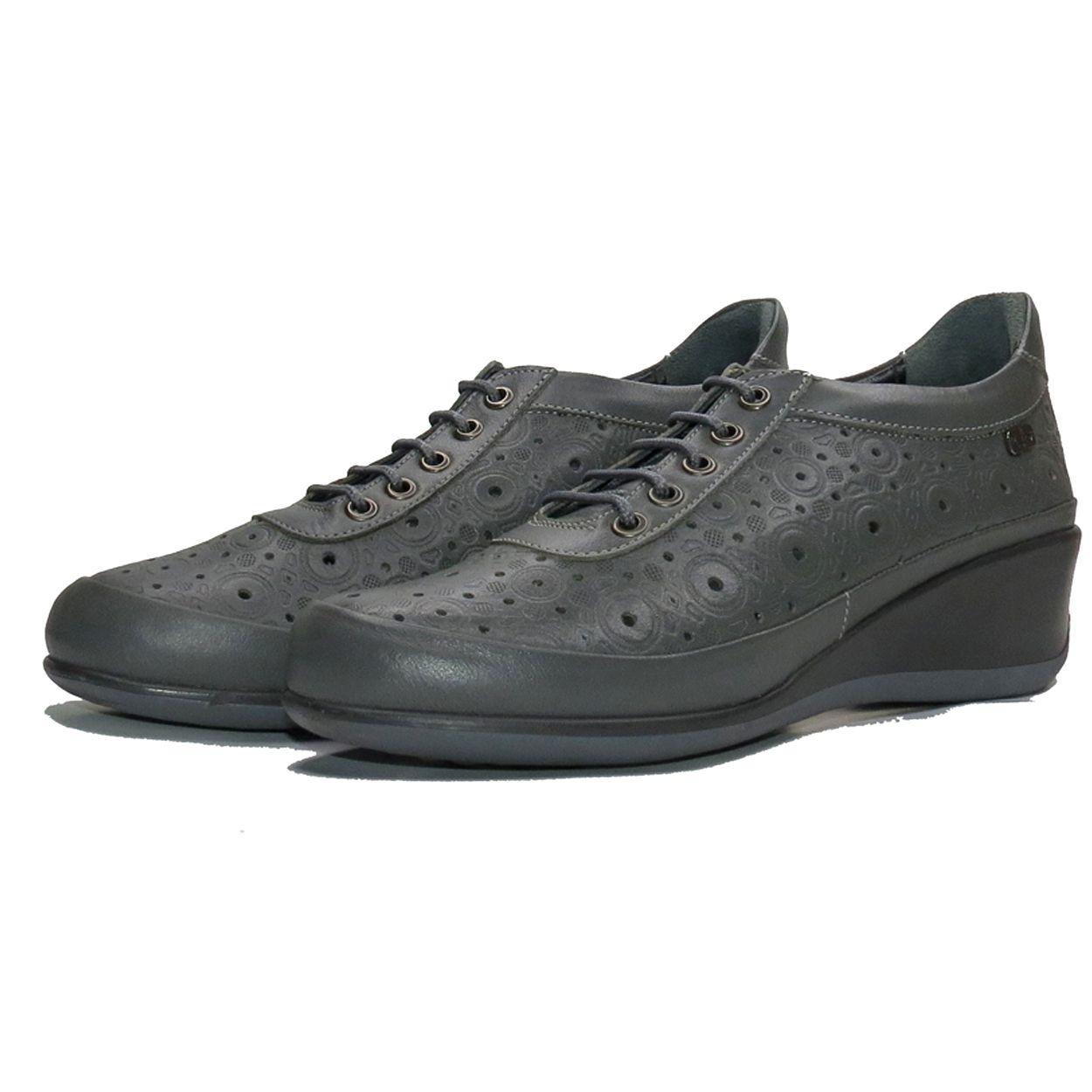 کفش روزمره زنانه آر اند دبلیو مدل 538 رنگ طوسی -  - 5