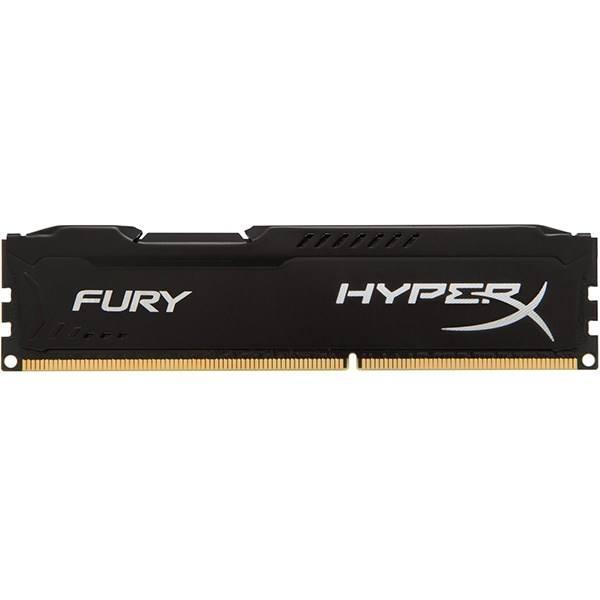 رم کامپیوتر کینگستون مدل HyperX Fury DDR3 1866MHz CL10 ظرفیت 4 گیگابایت