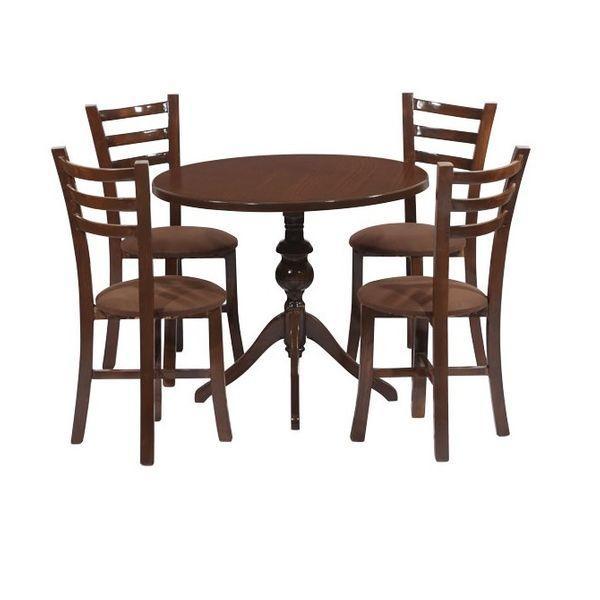 میز و صندلی ناهارخوری 4 نفره مدل Ro4-608