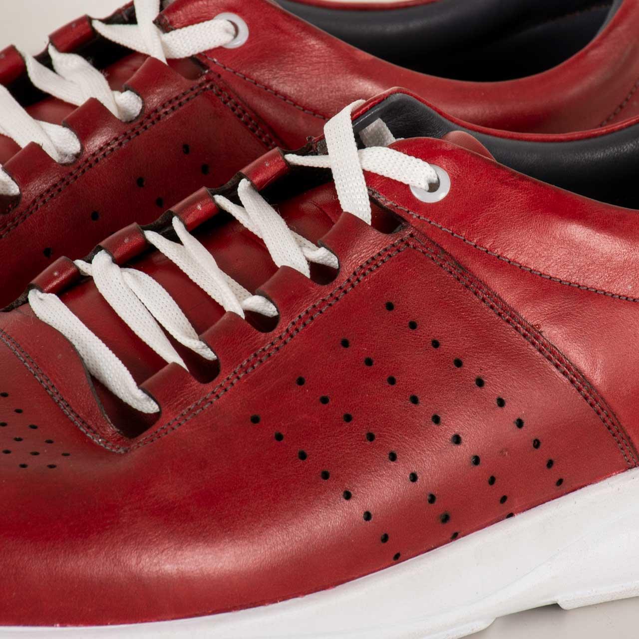 کفش روزمره مردانه پارینه چرم مدل SHO176-2 -  - 5