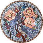 تابلو کاشی کاری مدل باغچه بهاری