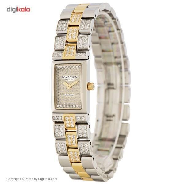 ساعت مچی عقربه ای زنانه رومانسون مدل RM3255QL1CAS1G 8