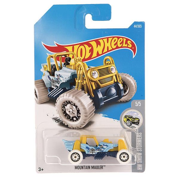 ماشین بازی متل سری هات ویلز مدل  Mountain Mauler