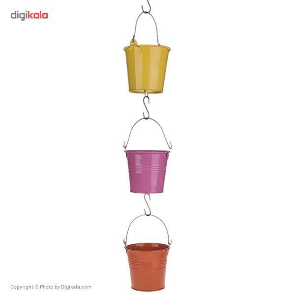 گلدان مری گلد مدل 12 سانتیمتری با دسته فلزی main 1 11