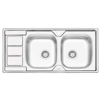 سینک ظرفشویی ایلیا استیل مدل 4051 توکار