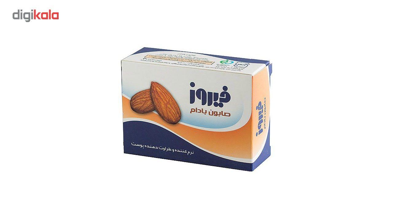 صابون فیروز مدل Almond مقدار 120 گرم main 1 1
