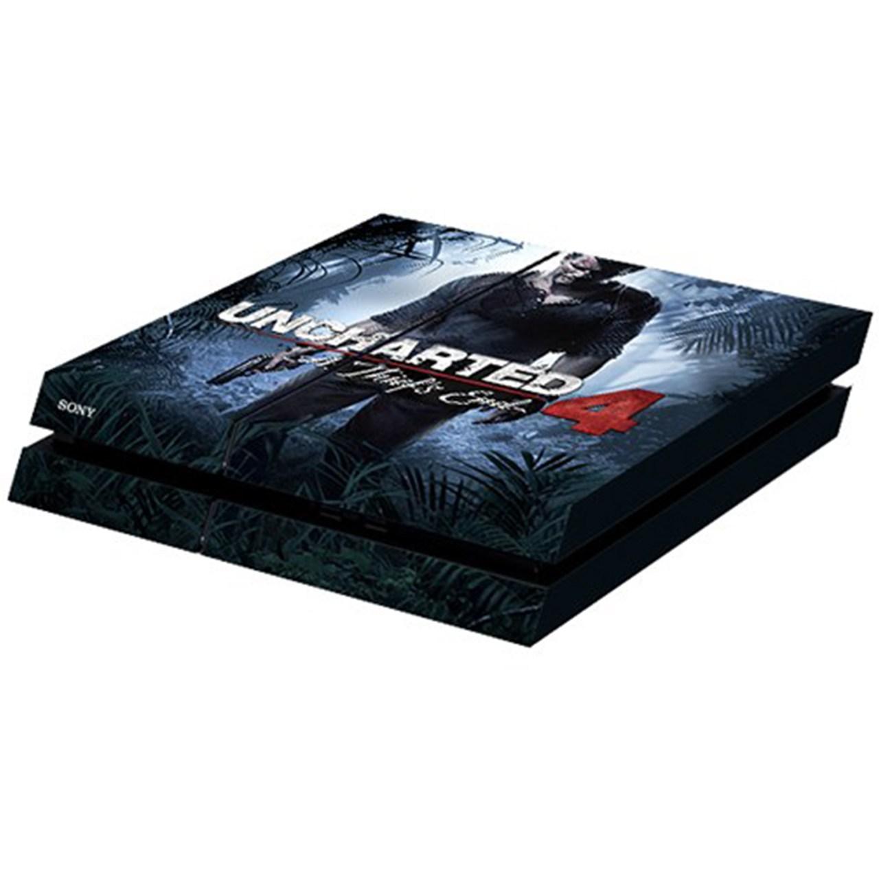 برچسب افقی پلی استیشن 4 ونسونی طرح Uncharted 4