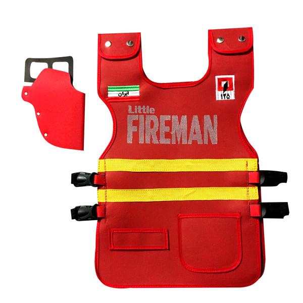 ابزار ایفای نقش مدل لباس آتش نشانی