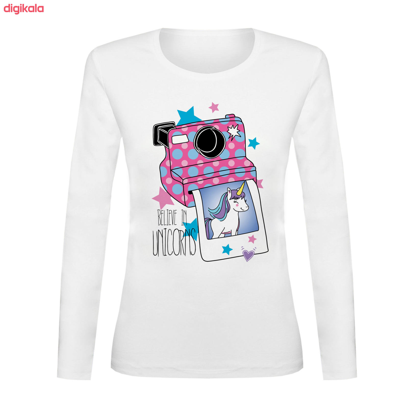 تی شرت آستین بلند زنانه کد TAB01-261