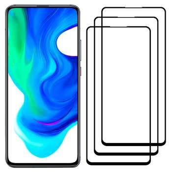 محافظ صفحه نمایش مدل FCG مناسب برای گوشی موبایل شیائومی Poco F2 Pro بسته سه عددی