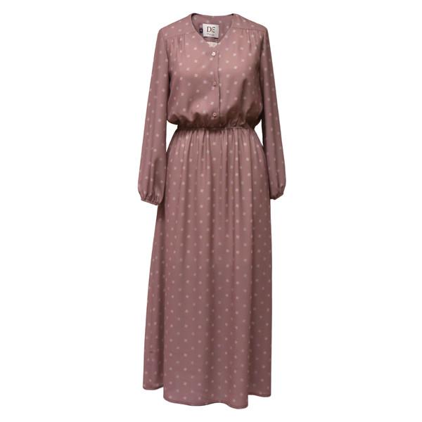 پیراهن زنانه دِرِس ایگو کد 1010035 رنگ شکلاتی