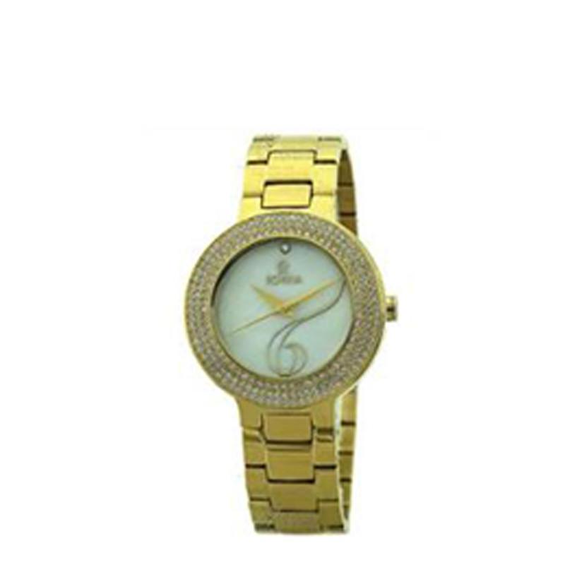 ساعت مچی عقربه ای زنانه روینا مدل 78101-L3BW