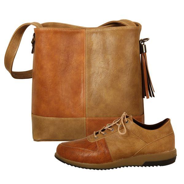 ست کیف و کفش زنانه باب مدل بهار کد 986-3