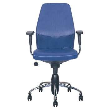 صندلی اداری نیلپر مدل SK708g چرمی