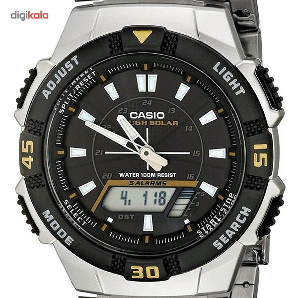 ساعت مچی عقربه ای مردانه کاسیو مدل AQ-S800WD-1EVDF