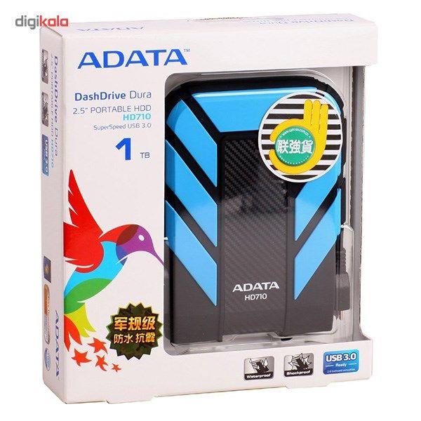 هارد اکسترنال ای دیتا مدل HD710 ظرفیت 1 ترابایت main 1 12