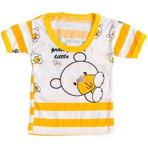 تی شرت آستین کوتاه نوزادی مدل KHS