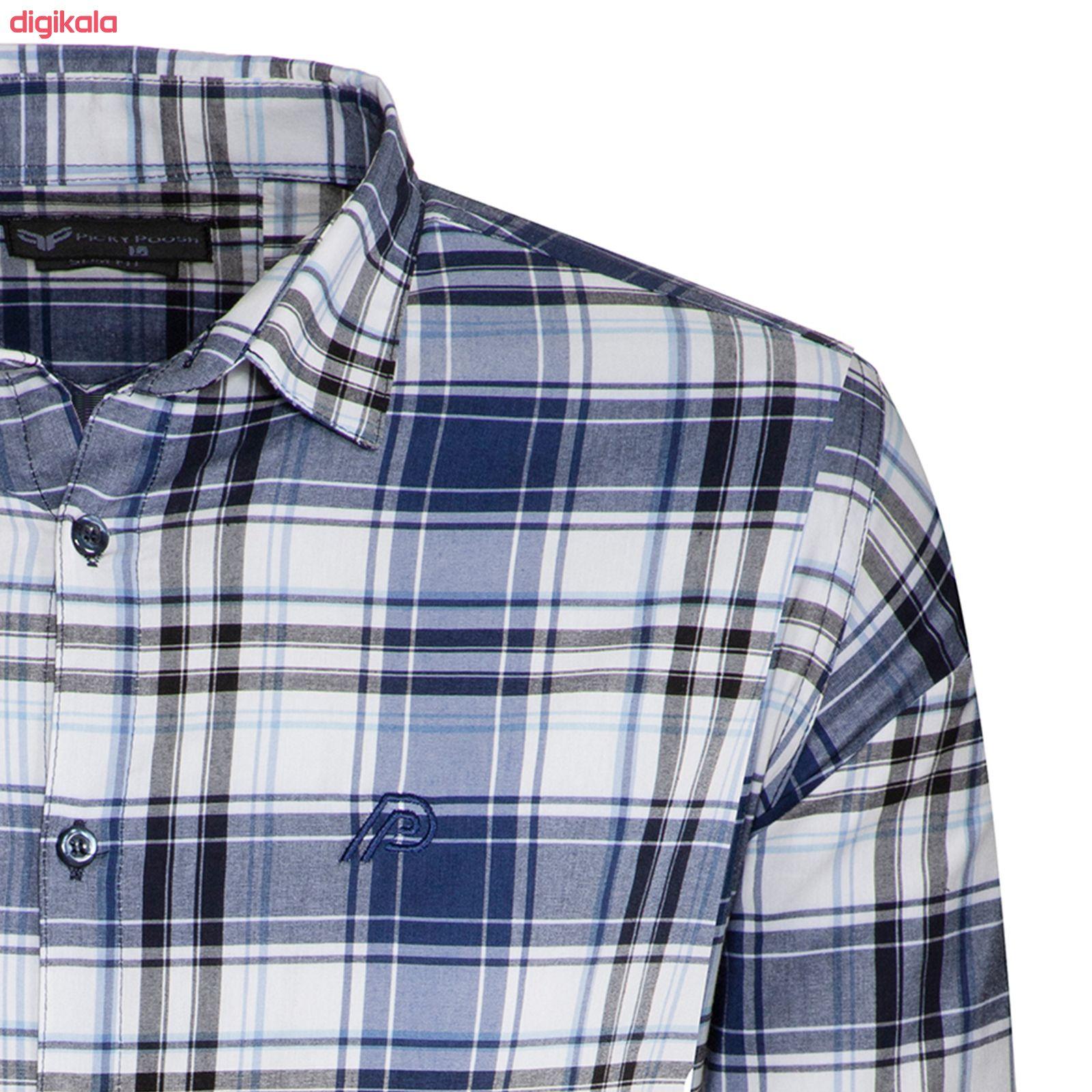 پیراهن مردانه پیکی پوش مدل M02420 main 1 5