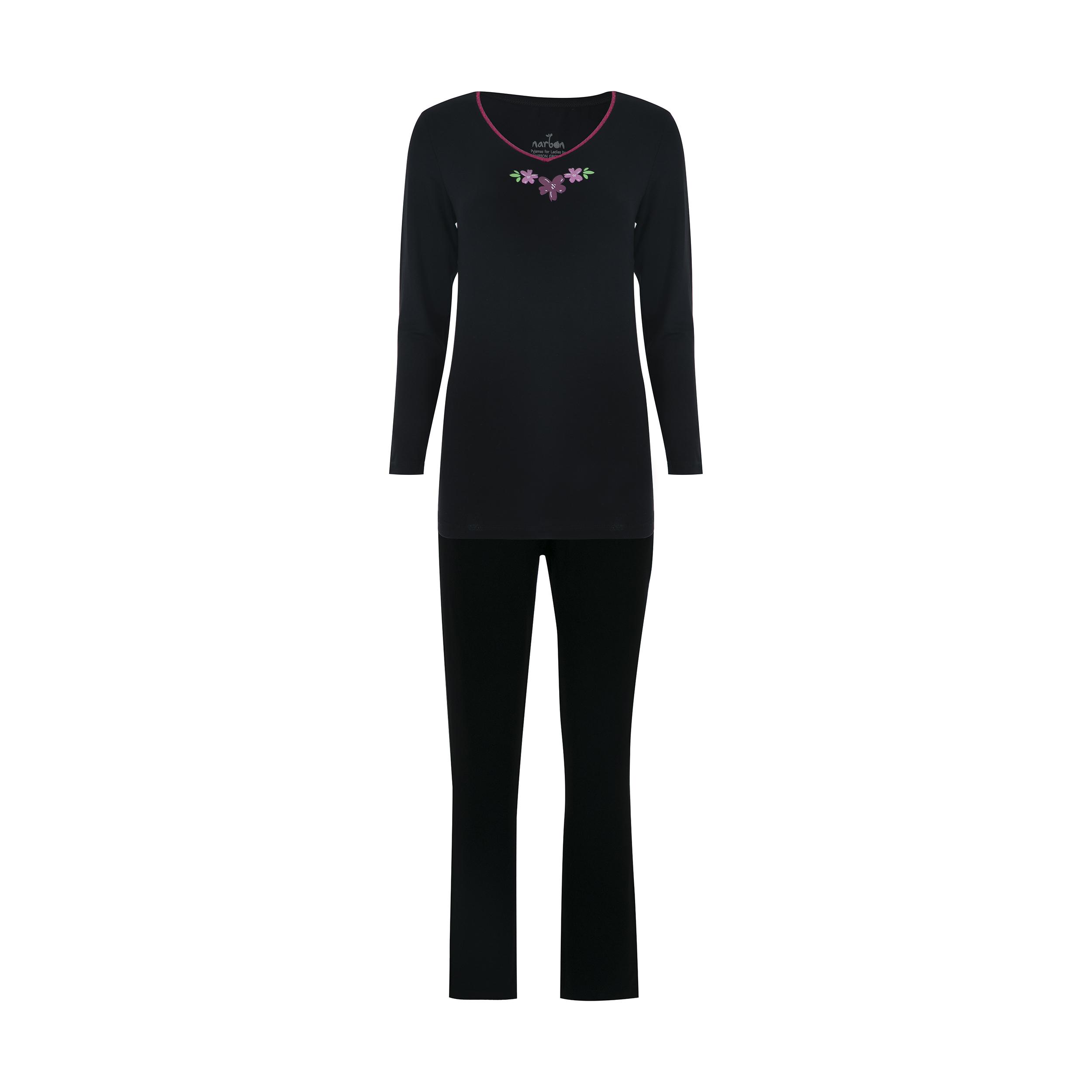 ست تی شرت و شلوار راحتی زنانه ناربن مدل 1521240-99