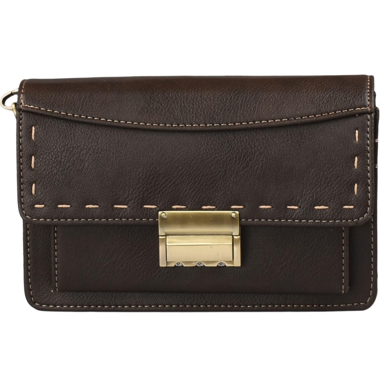 کیف دستی پارینه چرم مدل DB55